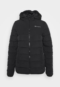 Champion - HOODED JACKET LEGACY - Training jacket - black - 5