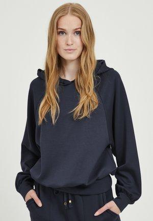 Bluza z kapturem - peacoat
