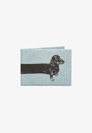 RFID  SAUSAGE DOG - Portefeuille - blau / schwarz