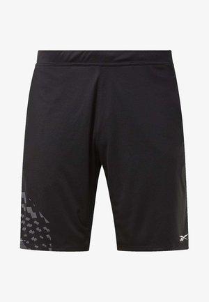 KNIT SHORTS - kurze Sporthose - black