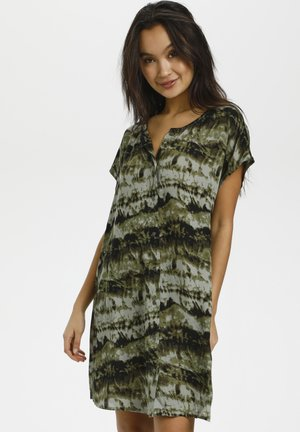 BPSUSANA  - Tunic - green tie dyed print