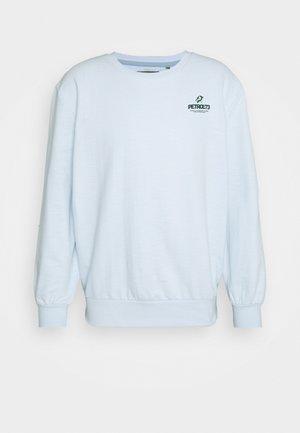 Sweatshirt - bleached aque