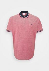 Jack & Jones - JJEPAULOS 2 PACK - Polo shirt - rio red - 1