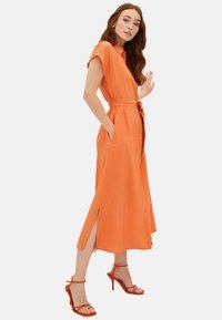 LC Waikiki - KLEID - Maxi dress - orange - 2