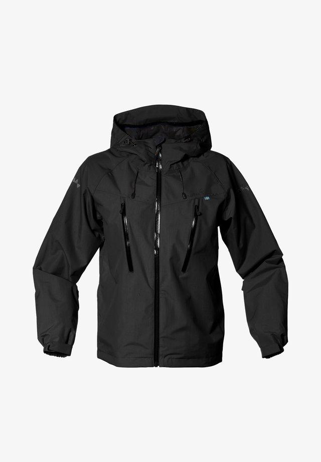 MONSUNE - Hardshell jacket - black