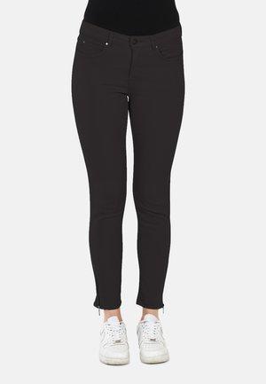 Slim fit jeans - dk. brown