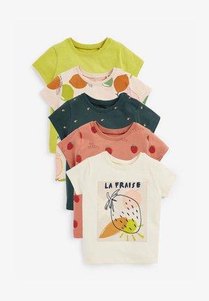 5 PACK - Print T-shirt - multi-coloured