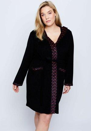 Dressing gown - schwarz