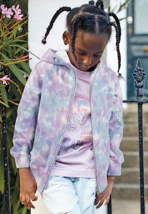 FLURO - Mikina na zip - pink
