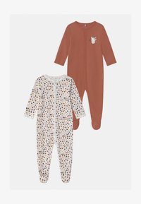 Name it - NBFNIGHTSUIT 2 PACK - Dupačky na spaní - withered rose - 0