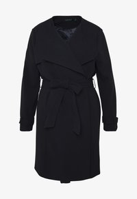 Lauren Ralph Lauren Woman - CREPE SYNTHETIC COAT - Frakker / klassisk frakker - midnight - 4