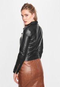 BTFCPH - EMMA - Leather jacket - black - 2