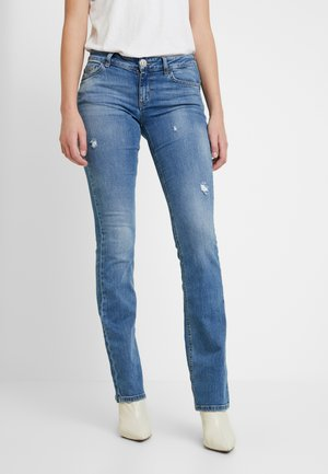 UP REPOT REG - Bootcut jeans - denim blue clear wash