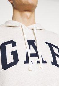 GAP - ARCH - Hoodie - oatmeal heather - 4