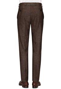 Carl Gross - CG SHIVER - Suit trousers - dunkelbraun - 1