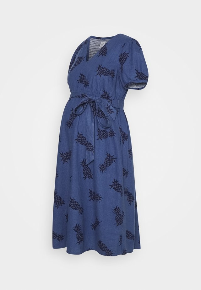 DRESS - Vestito di maglina - indigo