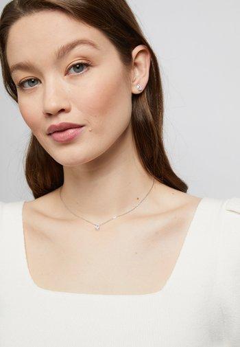 ATTRACT SET - Boucles d'oreilles - silver-coloured