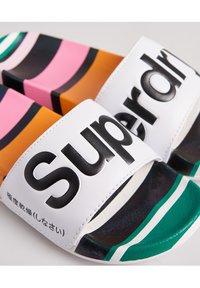 Superdry - AOP BEACH SLIDE - Mules - rainbow stripe - 2
