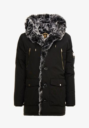 PARKLEA - Wintermantel - black