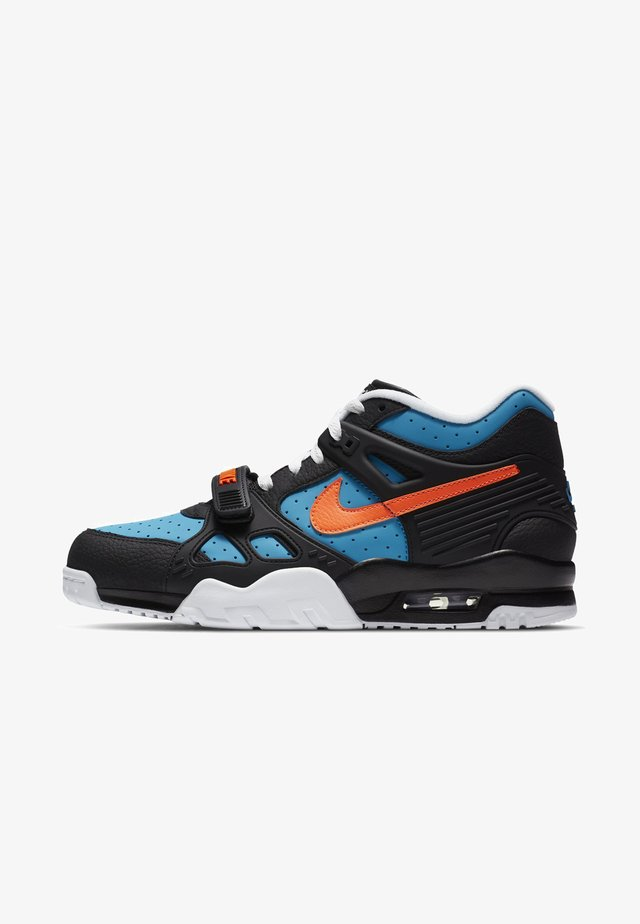 High-top trainers - black/laser blue/black/total orange