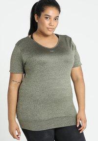 Venice Beach - SUI  SHIRT - T-shirt imprimé - deep lichen - 0