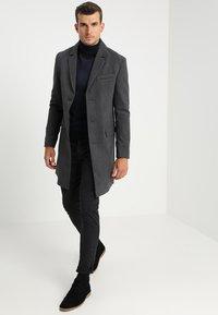 Pier One - Zimní kabát - mottled grey - 1
