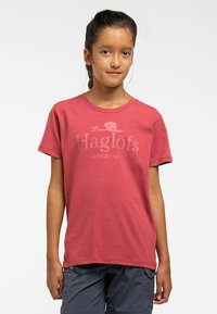 Haglöfs - CAMP TEE - Print T-shirt - brick red - 1