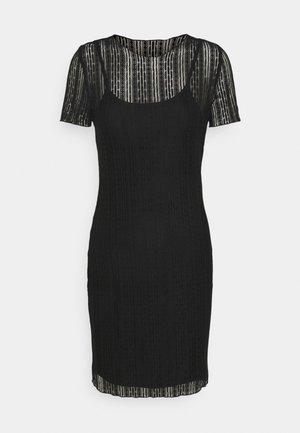 NMMILES MEDI DRESS - Hverdagskjoler - black