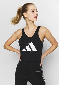 adidas Performance - GRAPH LEOTARD - Danspakje - black - 0