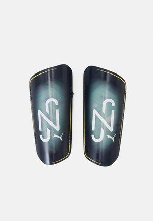 NEYMAR JR ULTRA LIGHT STRAP - Shin pads - peacoat/jelly bean dandelion/white
