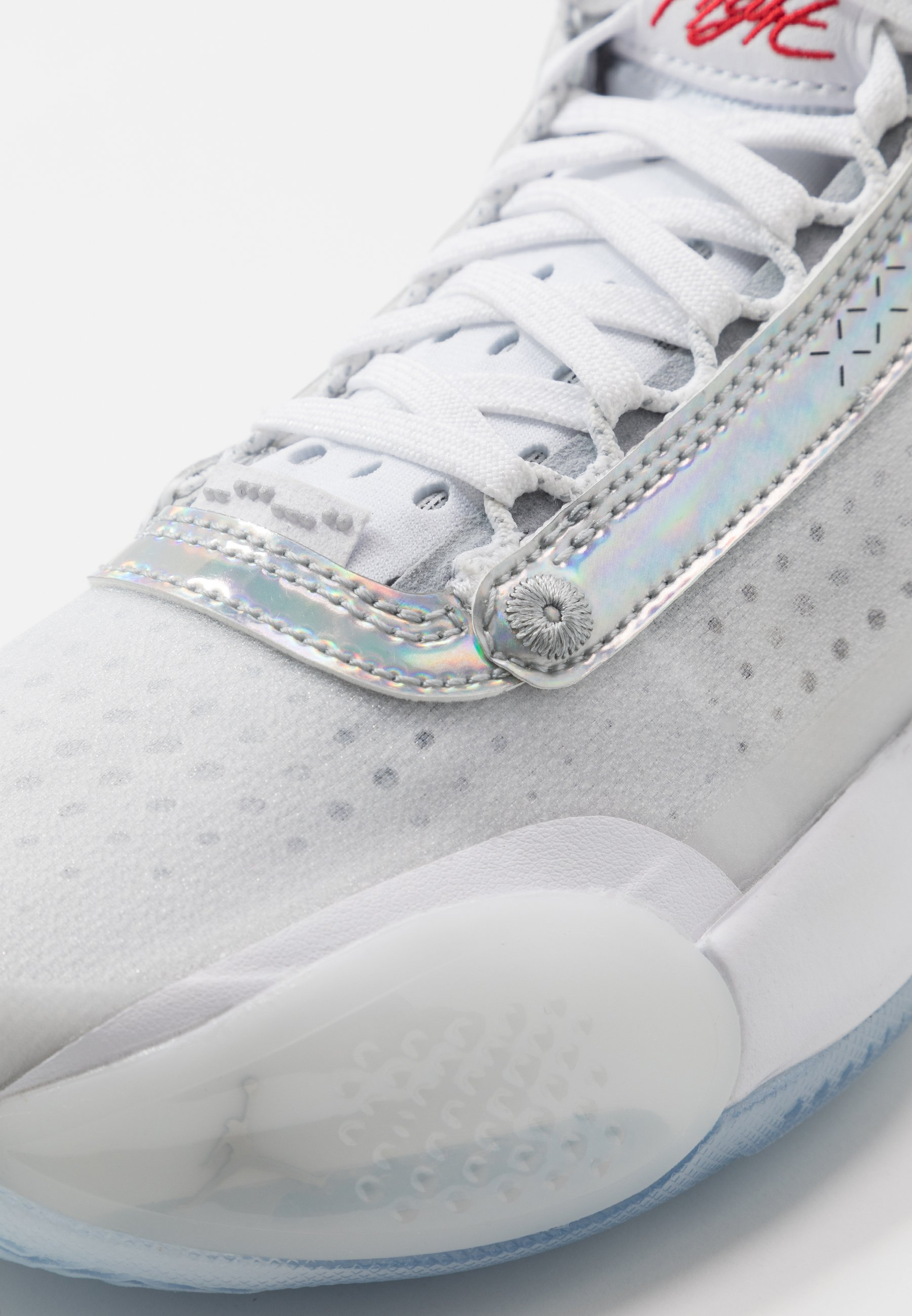 Jordan AIR XXXIV BG Basketballsko whitemetallic silver