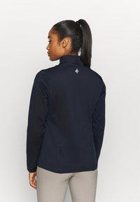 Cross Sportswear - WOMENS TECH FULL ZIP - Fleecejas - navy - 2