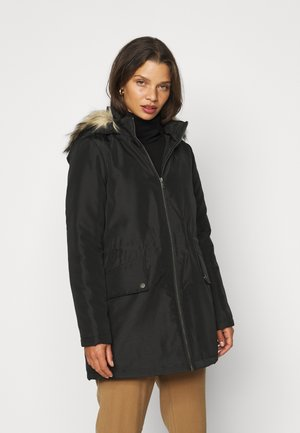 NMOCTAVIA LONG JACKET - Parka - black