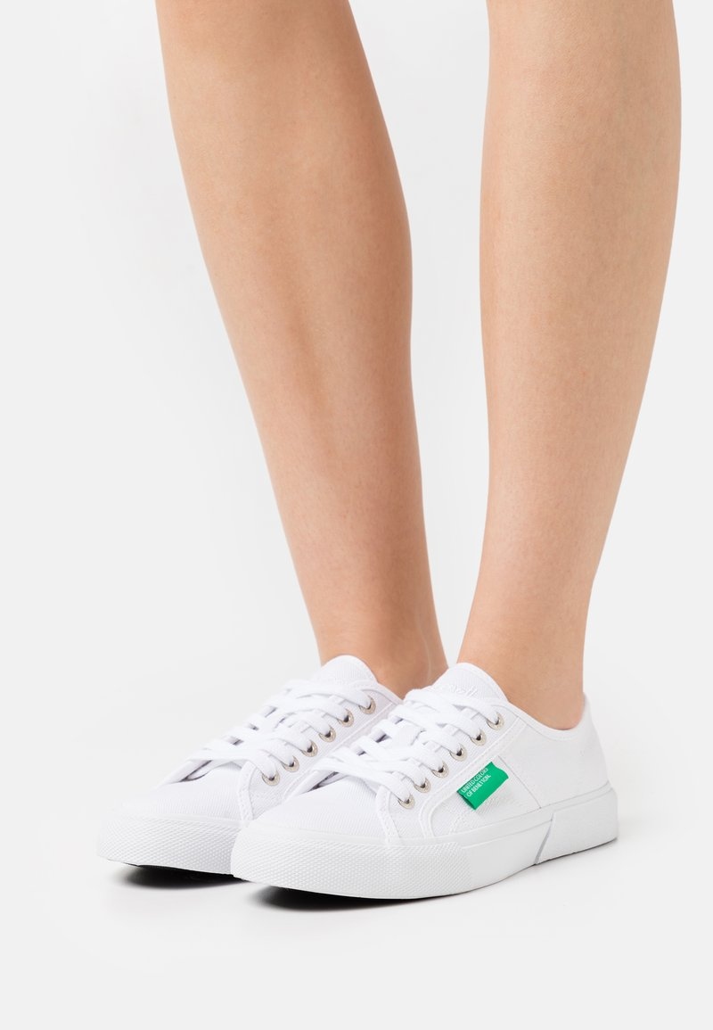 Benetton - TYKE - Sneakers laag - white