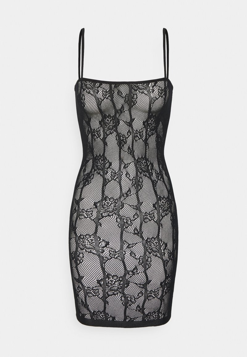 Ann Summers - THE ILLUSTRIOUS BOXED COVERED DRESS - Nightie - black