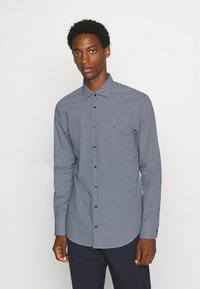 Tommy Hilfiger Tailored - MICRO PRINT CLASSIC SLIM - Formal shirt - blue - 0