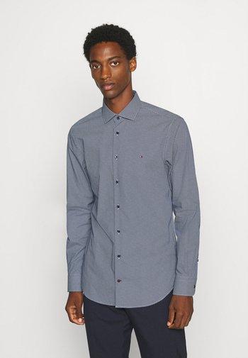 MICRO PRINT CLASSIC SLIM - Formální košile - blue