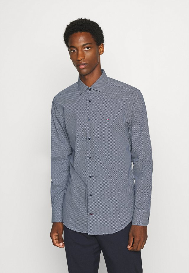 MICRO PRINT CLASSIC SLIM - Formal shirt - blue
