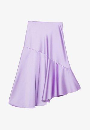 SKIRT - Áčková sukně - lilac