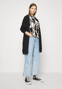 Monki - CAMILLA CARDIGAN - Hettejakke - black dark - 1