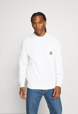 POCKET - Sweatshirt - wax