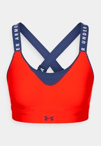 Under Armour - INFINITY HIGH BRA - High support sports bra - red - 3