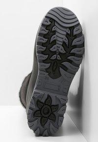 CMP - NIETOS - Zimní obuv - nero melange - 4