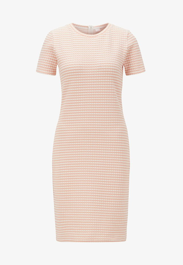 DESAMUEL - Jersey dress - light orange