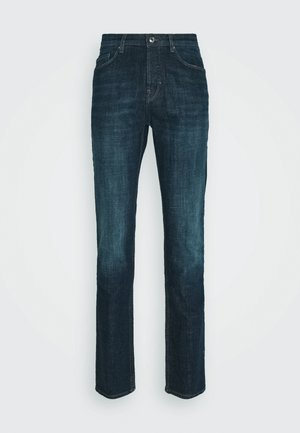 DAVID ECO OLD - Slim fit jeans - bleu
