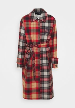 ICON BLEND CHECK - Classic coat - red