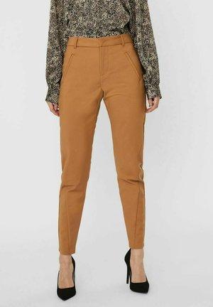 Pantaloni - tobacco brown
