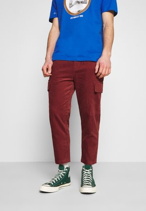 ETHAN TROUSERS - Cargo trousers - rust