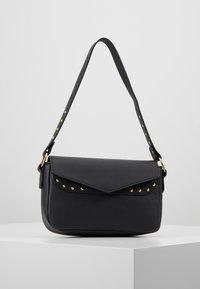 Missguided - STUD DETAIL SHOULDER BAG - Handbag - black - 0