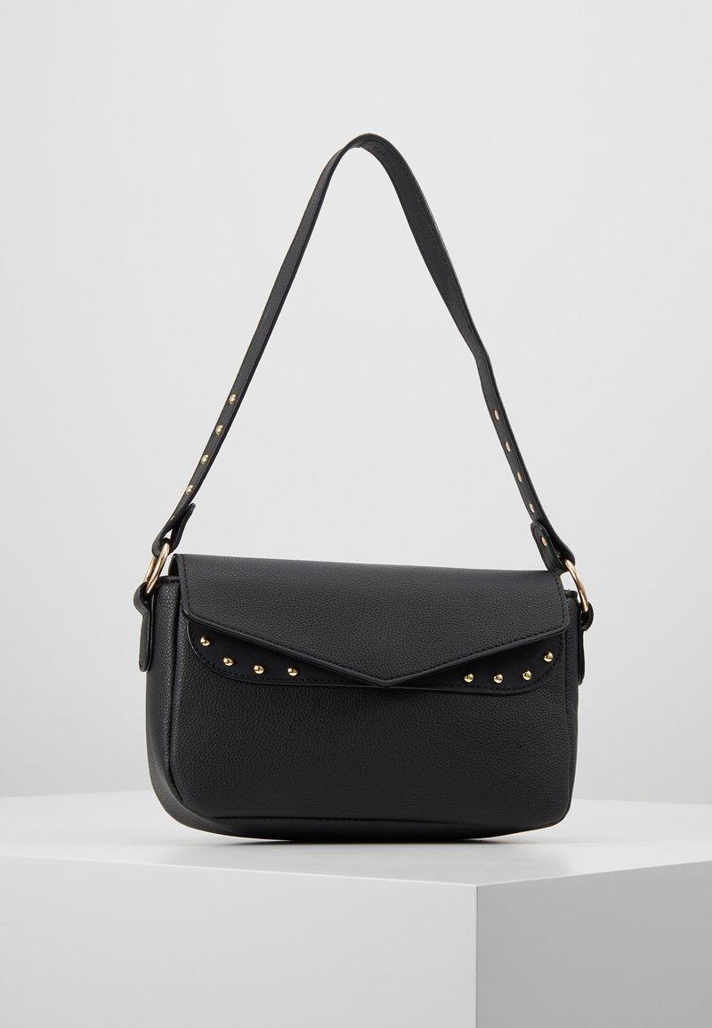 Missguided - STUD DETAIL SHOULDER BAG - Handbag - black